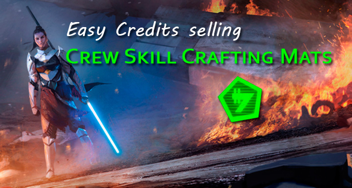 Crew Skill Crafting Mats